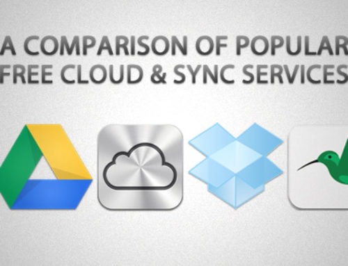 Online Storage Services Comparison