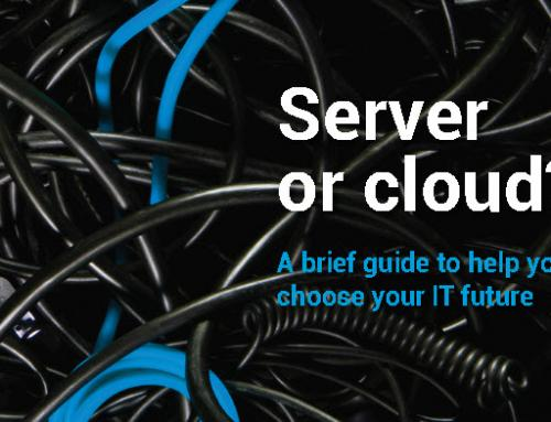In-house server or data storage in the cloud?