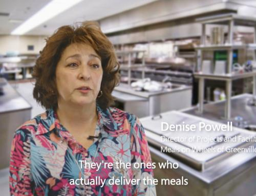 Office 365 Story: Meals on Wheels of Greenville County