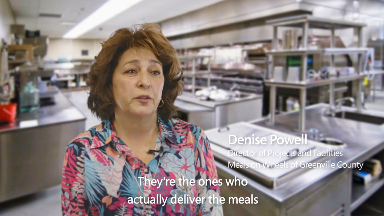 Office 365 Story Meals on Wheels