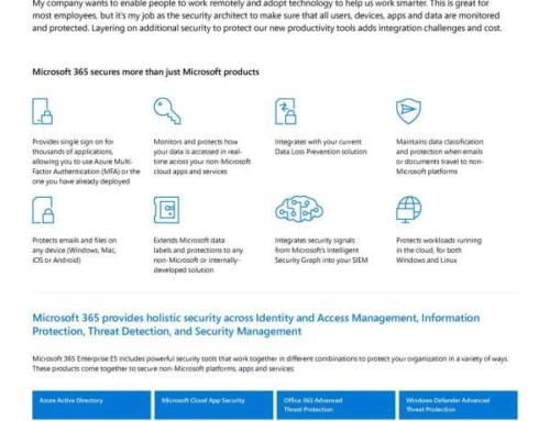 How can Microsoft help me secure our entire digital landscape?