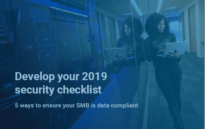 2019 Cyber Security checklist