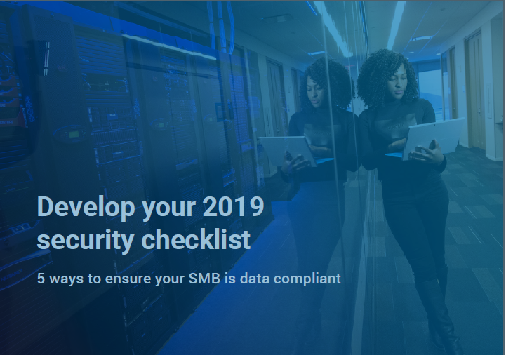 2019 Cyber Security checklist