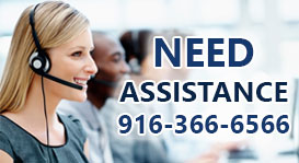 Need Assistance Call Now 916-366-6566